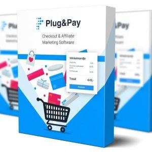 Op deze foto zie je de Plug & Pay software