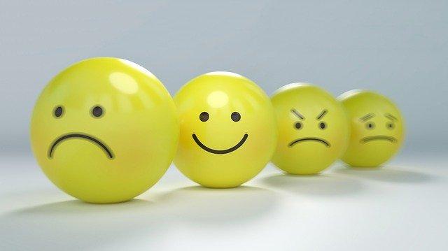 Op deze foto zie je dat je je niet moet laten leiden door emoties met beleggen in aandelen