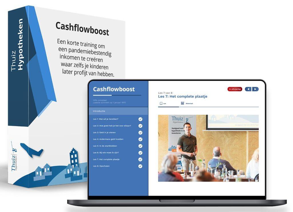 Op deze foto zie je de Cashflowboost training