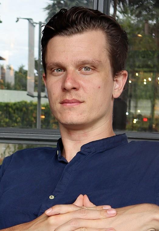 Op deze foto zie je Kevin Timmer, 1 van de oprichters van de Day Trading Masterclass